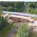 Vt6 Kevyen liikenteen järjestelyt Asemankylän kohdalla