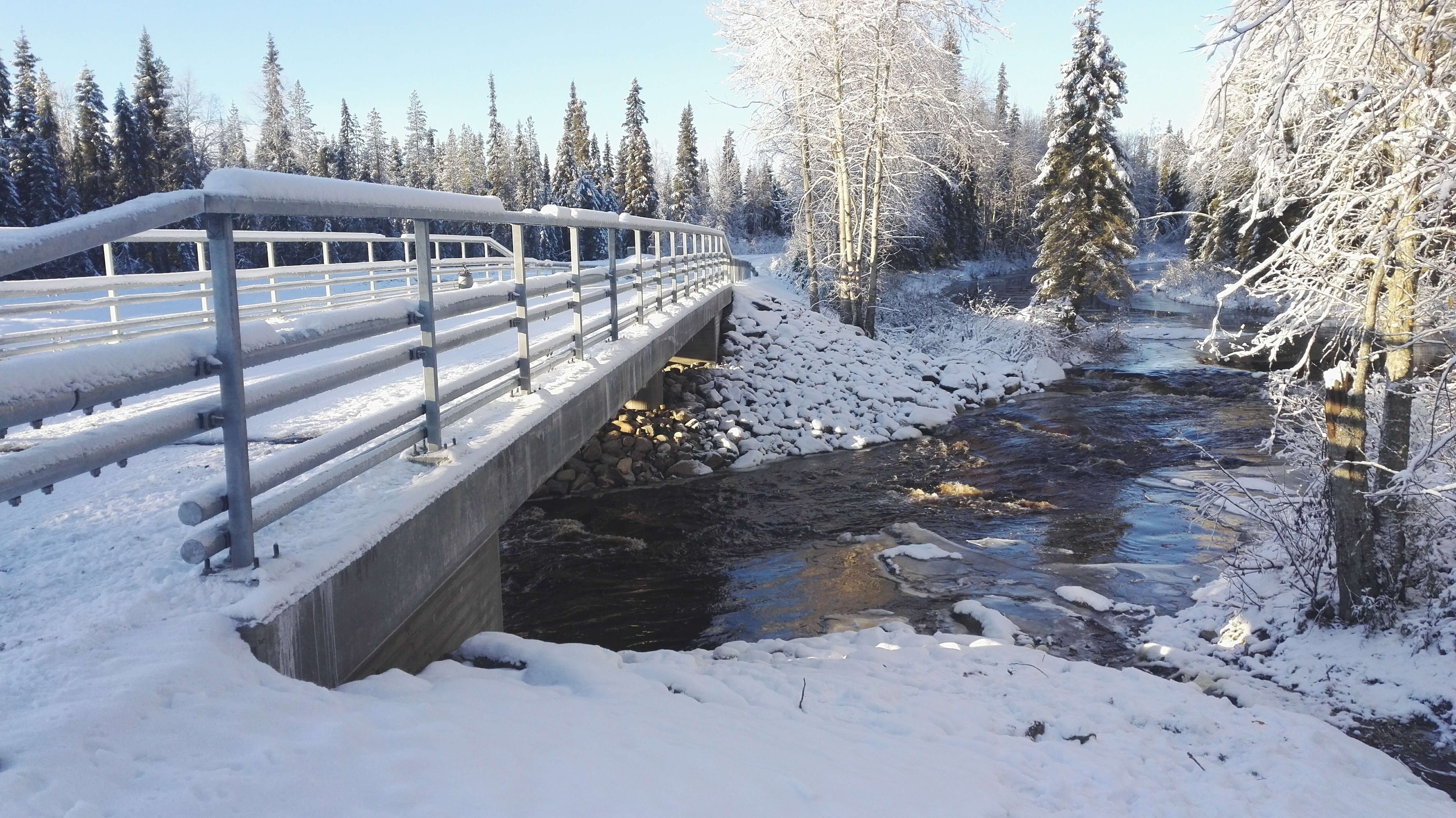 Ternujoen sillan uusiminen