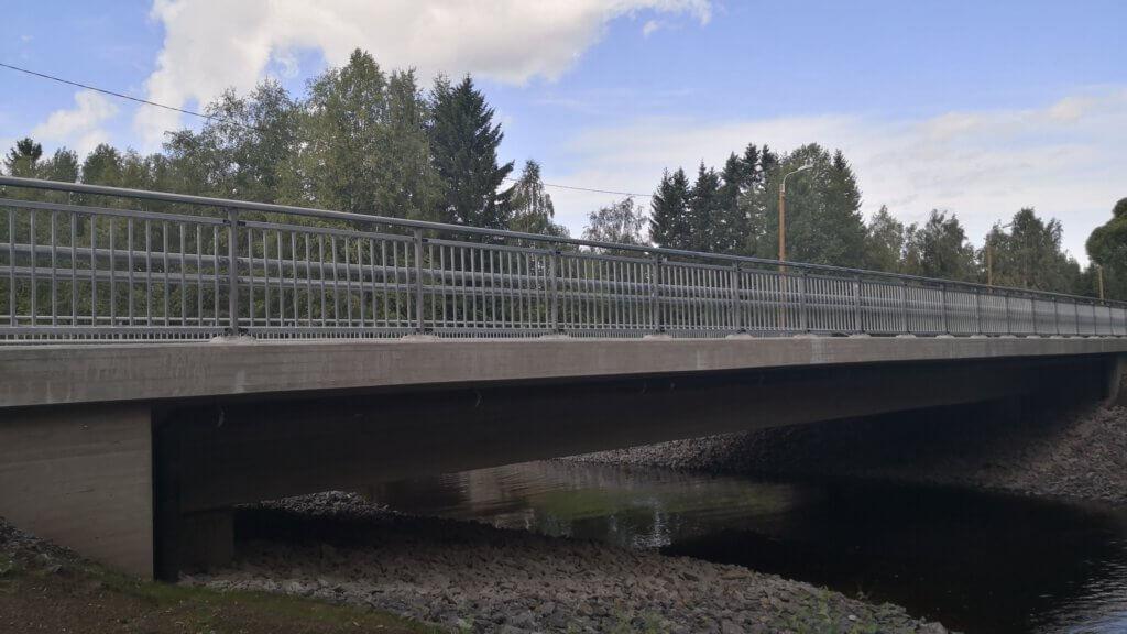 Mustasalmen sillan ja Museosillan rakentaminen