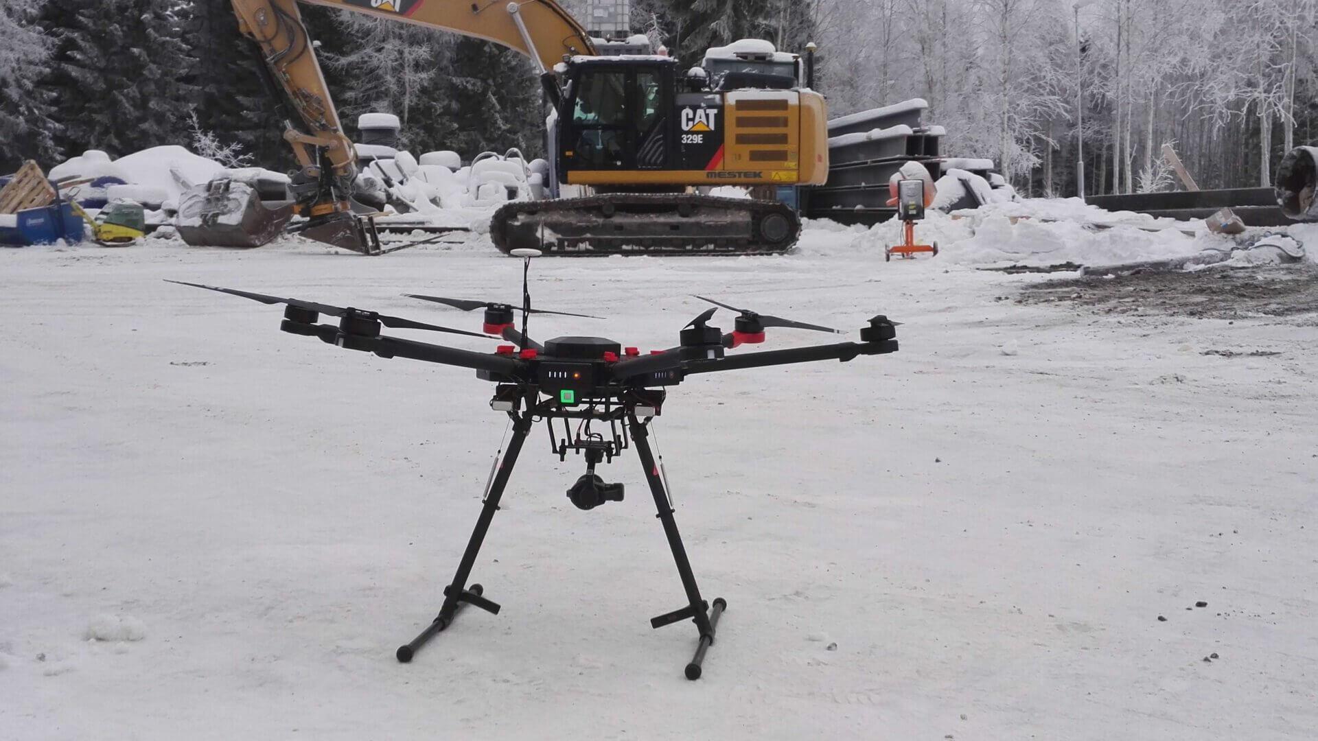 UAV-kartoitus