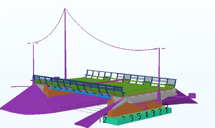 Kissankoskenrannan sillan ja polun rakentaminen, Oulu