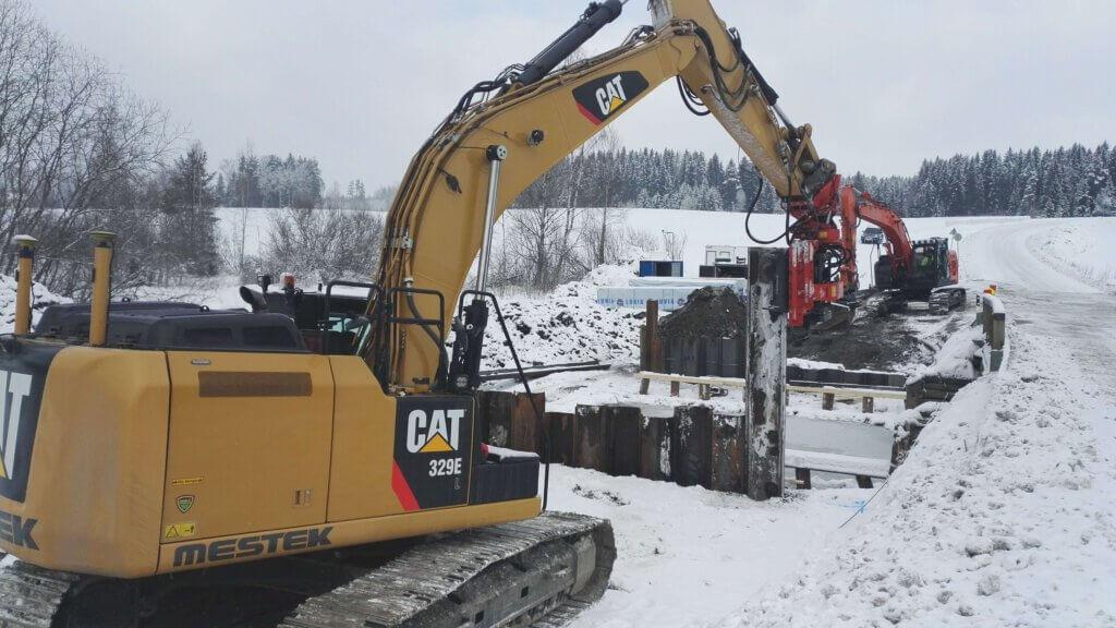 Mt13763 Vakkalantien parantaminen välillä Mt2992 - Vassin silta